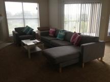 Zetel met chaise lounge
