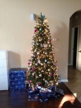 Onze kerstboom...