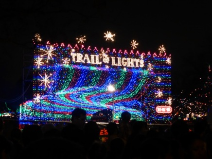 Trail of lights te Austin.