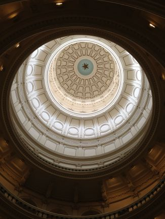 Inside the Texas State Capitol