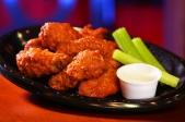 Buffalo chicken wings...