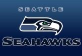 Logo van de Seattle Seahawks.