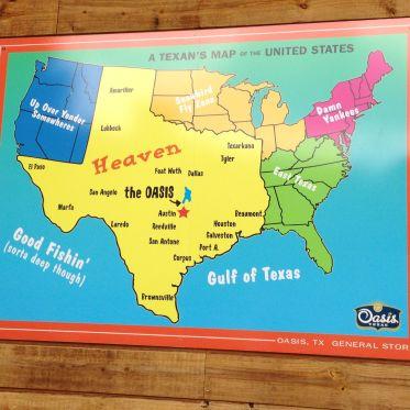 Amerika volgens de Texanen...
