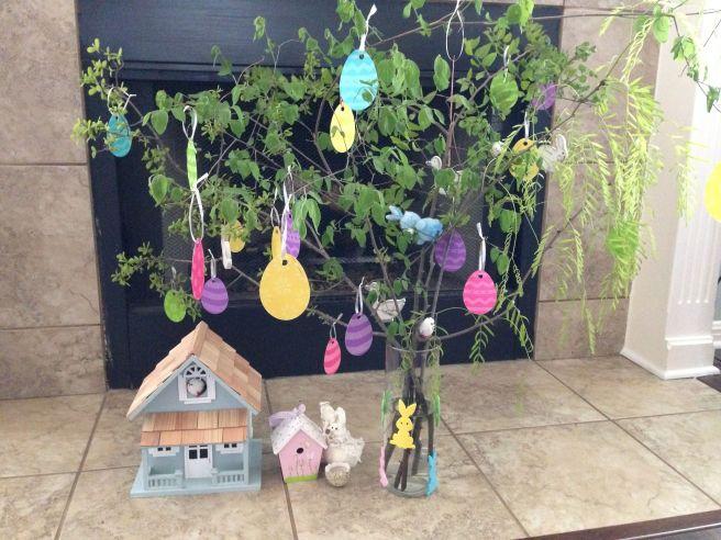 Onze paasboom...