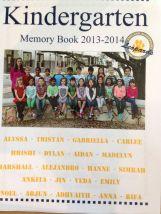Hanne's memory book...