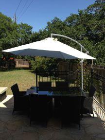 Nieuwe parasol