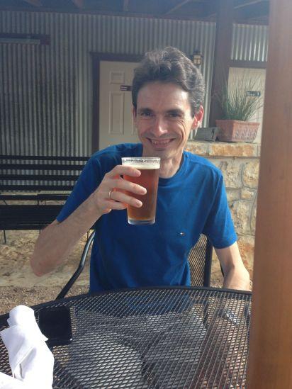 Heerlijke pale ale... Helaas was de Belgische tripple op :-(