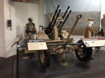 Anti aircraft gun...