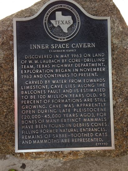 Discovery of Inner Space Caverns...