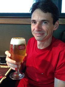 Belgisch biertje op de overwinning!