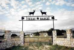 Art on a Texas ranch...