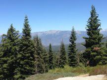 Prachtig uitzicht op Spanish Mountain...
