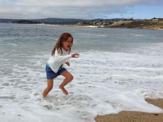 Spelen in het water...
