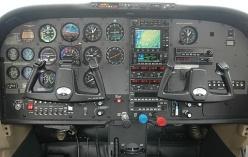 Analoge cockpit