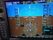 Glass cockpit in onze C182