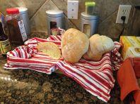 Versgebakken wit brood
