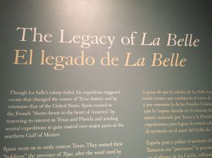 The Legacy of La Belle...