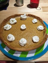Pumpkin pie, hmm....