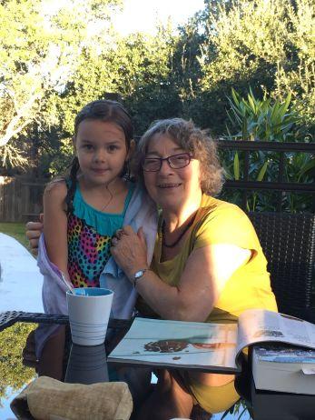 Zwemmen met Granny...