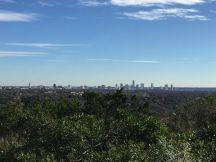 Uitzicht op Mount Bonnell...