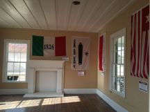 Texas flags...