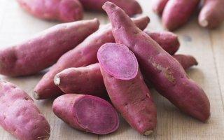 Purple yam...