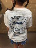 T-shirt Hanne, voor de wedstrijd...