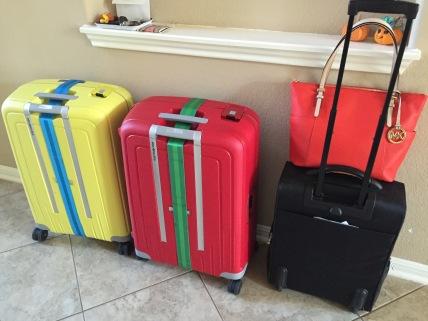 De Belgische koffers staan klaar....