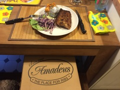Amadeus, the place for ribs!