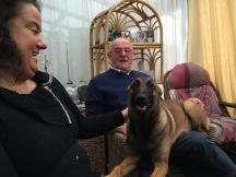 Anja, Pa en Blackie