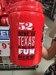 1,5 liter: fun size? Really? Only in Texas, I guess!