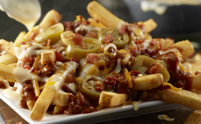 Chili cheese fries... to die for!