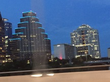 Austin at night....