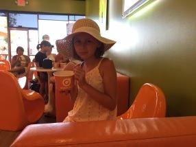 ... frozen yoghurt...