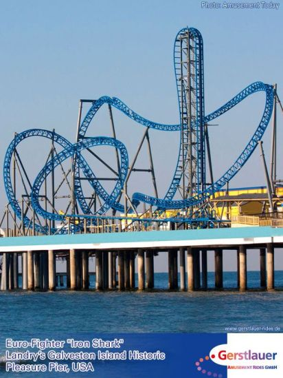 Iron Shark rollercoaster