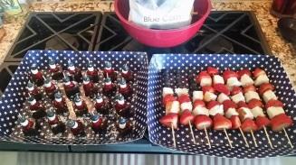 Amerikaans geïnspireerd dessert