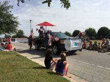 The parade....