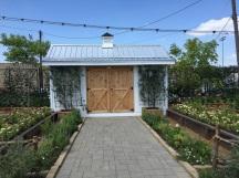 Het mooie tuinhuis