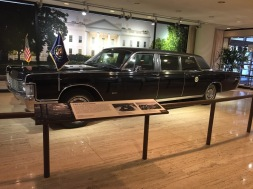 LBJ's limousine
