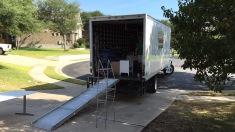 Mooving Cow verhuiswagen