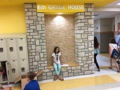 Op verkenning in 6th grade!