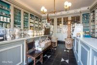 Interieur van het bekende Gentse mosterdwinkeltje