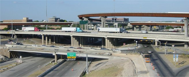 Freeway interchanges
