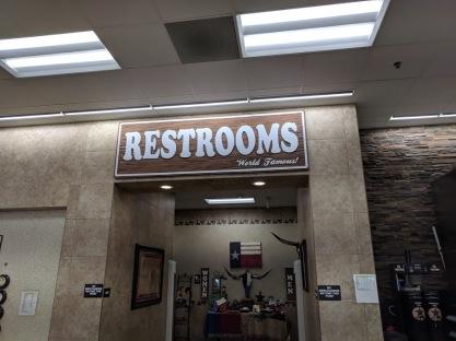 Buc-ee's restrooms!